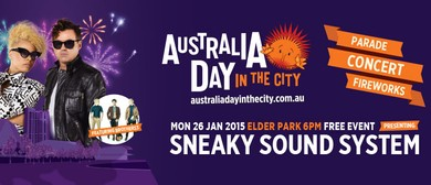 Australia Day in the City 2015