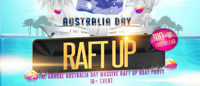 Australia Day Massive Raft Up Boat Party