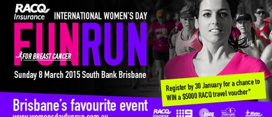 RACQ Insurance International Women's Day Fun Run