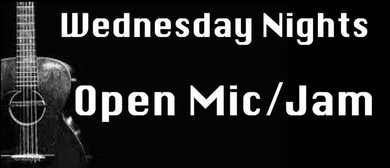 Open Mic and JAM Night: CANCELLED