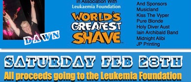 Leukemia Foundation - World's Greatest Shave Fundraiser