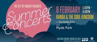 City of Vincent - Summer Concerts  No. 1