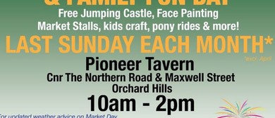 Pioneer Tavern Mini Market & Family Fun Days