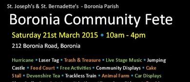Boronia Community Fete