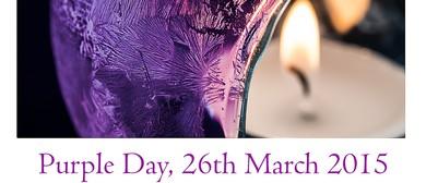 Epilepsy Awareness - Purple Day