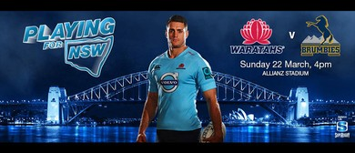 Super Rugby - NSW Waratahs v Brumbies