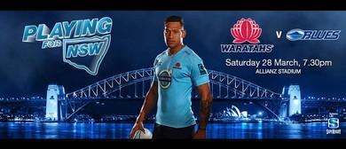 Super Rugby - NSW Waratahs v Blues