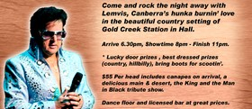 Lemvis - Elvis & Johnny Cash Tribute Show & Dinner Dance