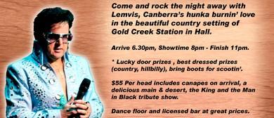 Lemvis - Elvis & Johnny Cash Tribute Show & Dinner Dance