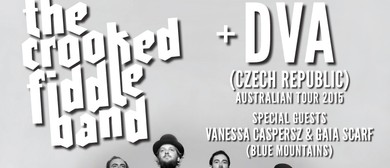 The Crooked Fiddle Band & DVA (Czech Republic) & More