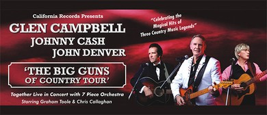 Glen Campbell, Johnny Cash & John Denver In Concert