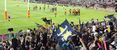 North Queensland Toyota Cowboys Vs South Sydney Rabbitoh