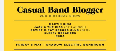 Casual Band Blogger's 2nd Birthday