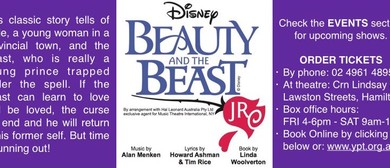 Young People's Theatre Newcastle - Disney's Beauty & The Bea