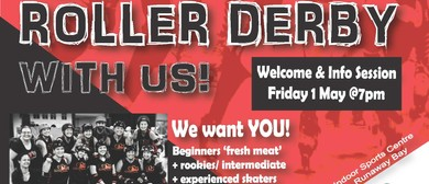 Roller Derby - New Member Sign On & Info Session