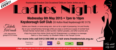 Keysoborough Freedom Club's Ladies Night Fundraiser