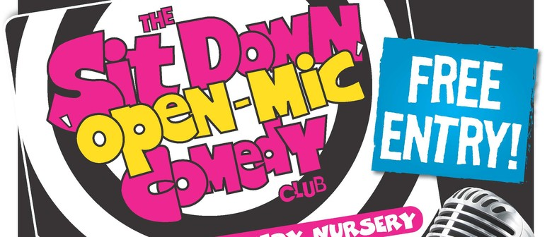 The Sit Down Open-Mic Comedy Club