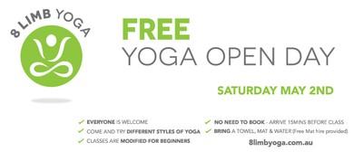 Free Yoga - Open Day