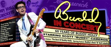 Buddy in Concert – 60 Years of Buddy Holly