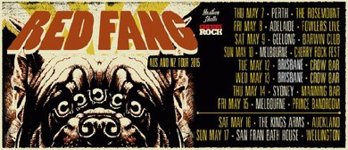 Red Fang w/ King of the North, Warped & Holy Serpent