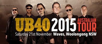 UB40 '2015 Australian Tour'