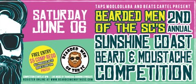 The Sunshine Coast's 2nd Annual Beard & Moustache Competitio