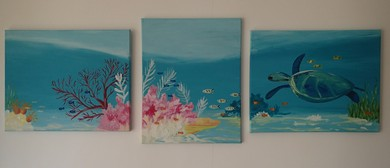 Paint WA's Beautiful Coral Coast With Cabernet & Canvas