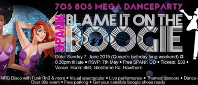 Spank - Blame it on the Boogie 70's 80's Mega Danceparty