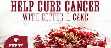 Help Cure Cancer With Coffee & Cake