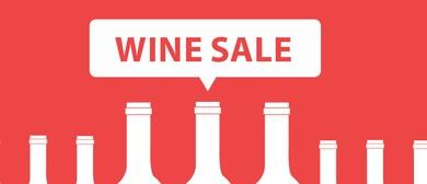 We're having a Wine Sale