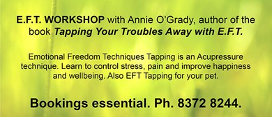 Tapping Your Troubles Away With Emotional Freedom Techniques