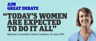AIM's Women In Management: The Great Debate