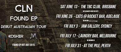 Cln Found Ep - Debut Australian Tour