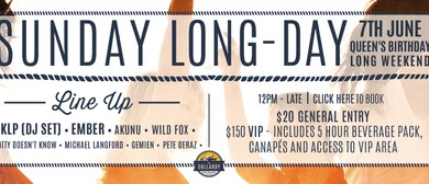 Sunday Long-Day Featuring Ember & KLP
