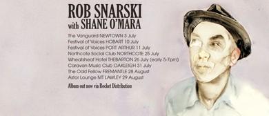Rob Snarski With Shane O'Mara - 2015 National Tour