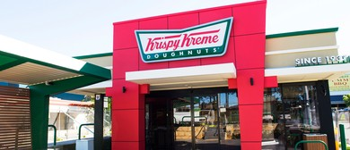 Dough-nut miss out! Krispy Kreme Store Opening