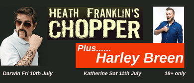 Heath Franklin's Chopper with Harley Breen