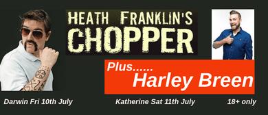 Heath Franklin's Chopper with Harley Breen