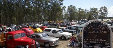 Broke Village Fair And Vintage Car Display