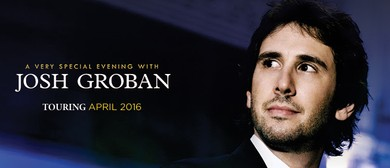 Josh Groban - Stages Australian Tour 2016