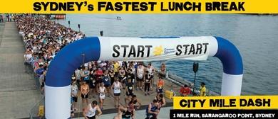 City Mile Dash 2015
