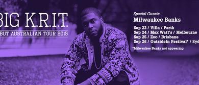 Big K.R.I.T Australian Tour 2015
