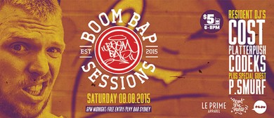 Boom Bap Sessions #4 feat. P.Smurf
