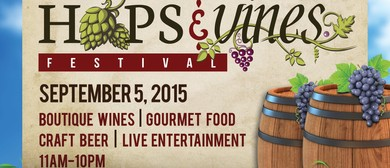 Hops And Vines Festival