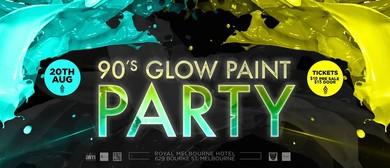 90's Glow Paint Party