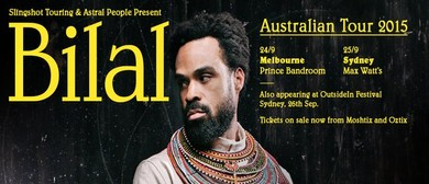 Astral People & Slingshot Touring Present Bilal