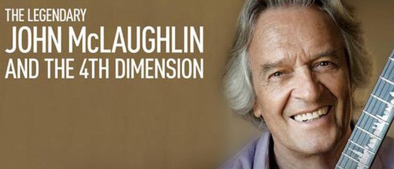 The Legendary John Mclaughlin And The 4th Dimension