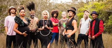 Xavier Rudd & The United Nations - Flag Australian Tour