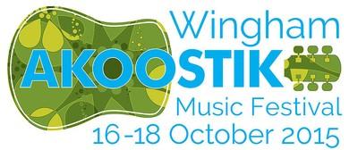 Wingham Akoostik Festival