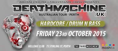 Deathmachine Australian Tour 2015